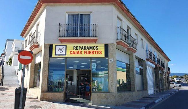Tienda cerrajería en Marbella